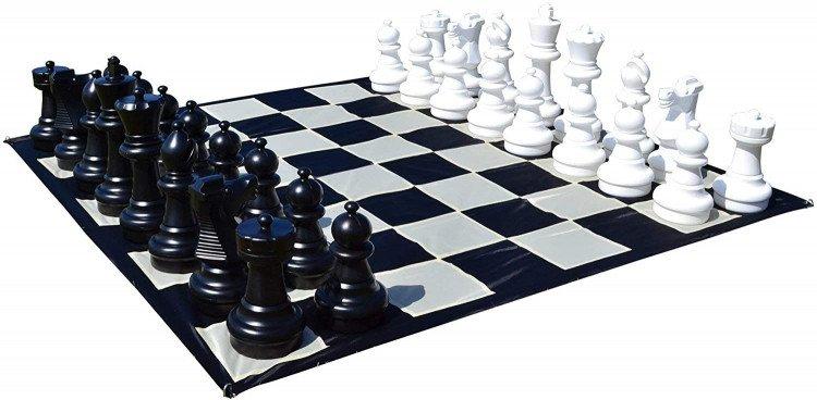 Giant Chess Set 25pieces  10'X10' Matt