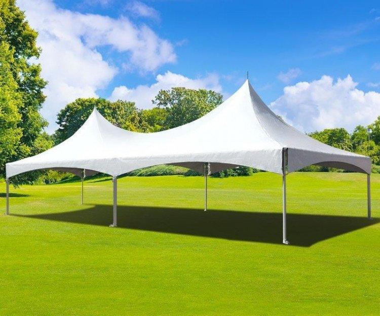 20X40 Hi Peak Tent Frame Tent
